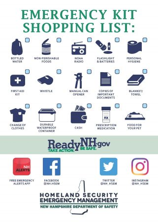 Emergency Kit Shopping List