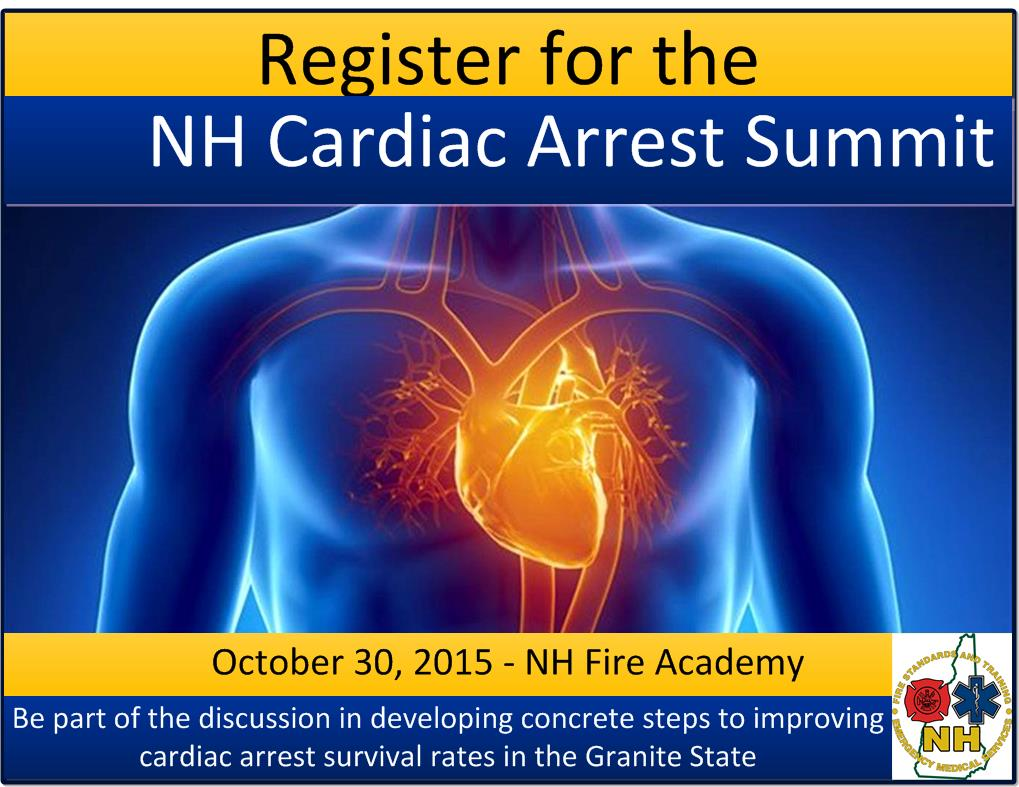 Registration for the Cardiac Arrest Summit